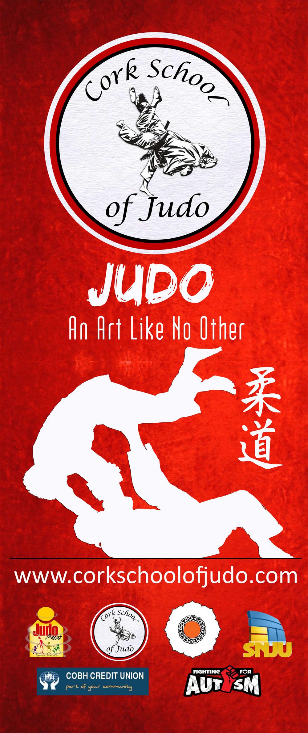 Cork School of Judo Rollup Banner
